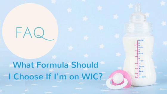 What Formula Should I Choose if on WIC?