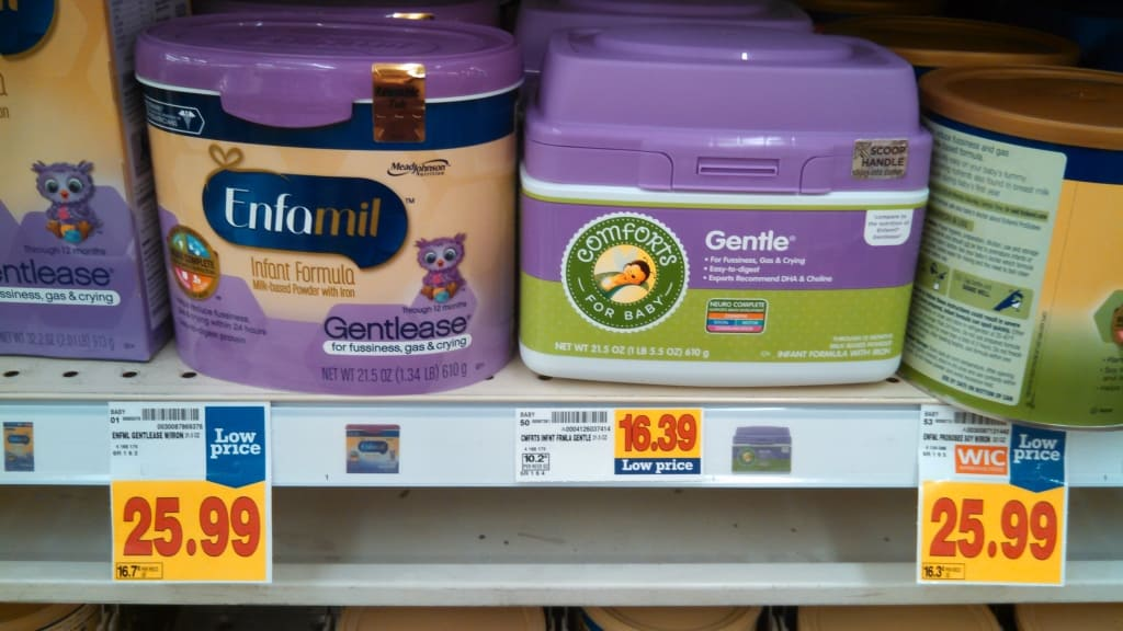Generic brand Comforts for Baby Gentle