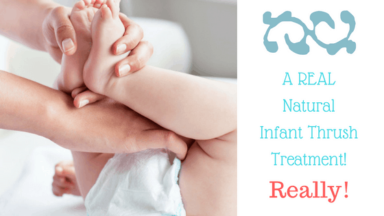 A Real Natural Infant Thrush Treatment! Really! - Baby