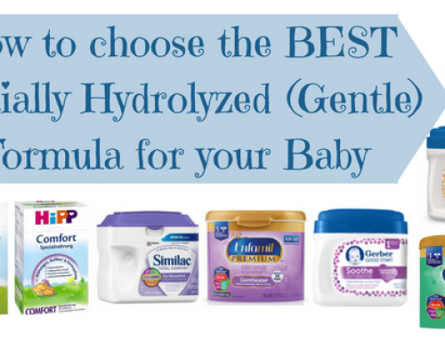 How to Choose the Best Partially Hydrolyzed (Gentle) Formula For your Baby